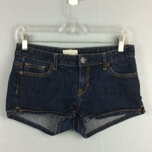 Aeropostale Ladies Denim Booty Shorts Sz 3/4